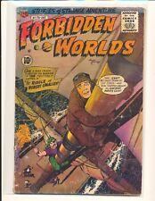 Forbidden Worlds # 73 - 1st Herbie by Ogden Whitney Fair Cond. water damage