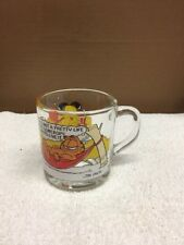 1978 Mcdonald's Garfield Glass Coffee Cup