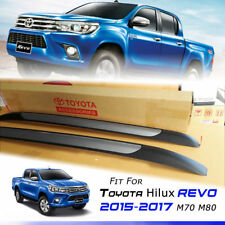 OEM Genuine Aluminium Roof Roll Bar Rack Fit For Toyota Hilux Revo M70 M80 15-17