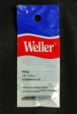 """Weller PTC8 1/8""""x3mm Screwdriver Soldering Tip Lot of 3"""