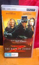 UMD Video - The Mask Of Zorro - PSP - VGC
