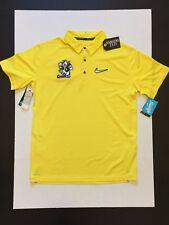 Nike Oregon Ducks Stomp Cancer Doernbecher Freestyle Elite Polo Shirt Mens Sz M