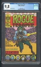 ROUGE TROOPER 1 CGC 9.8 10/86 GERRY DAY QUALITY COMICS WHITE PAGES 1st in TITLE