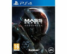 Mass Effect: Andromeda Sony Playstation PS4 Game 16+ Years