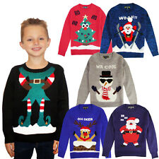 Kids Novelty Christmas Jumpers