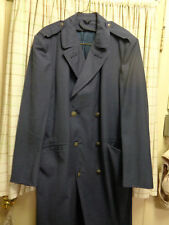 Vintage U.S. Air Force overcoat wool uniform trench coat large