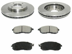 For 2009-2014 Nissan Cube Brake Pad and Rotor Kit Front 43759QS 2010 2011 2012