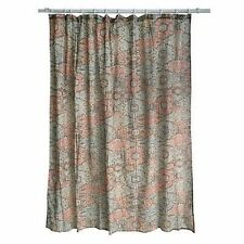 """Threshold Shower Curtain Standard Top, Abstract Circle , 72""""x72"""", NWOT/Open/FS"""