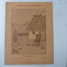 Assolo di pianoforte gretchaninoff tautropfen op. 127A, DEW DROPS