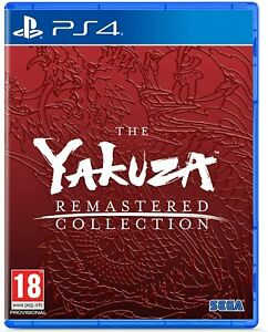 Yakuza Remastered Collection PS4 Playstation 4 Brand New Sealed