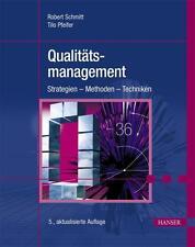 Qualitätsmanagement von Robert Schmitt [Hanser Fachbuchverlag]