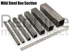 Mild Steel SQUARE Box Section - 8 Sizes & 10 Different Lengths Available Tube