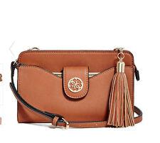 NWT GUESS Lacy multi organizer Crossbody Handbag Purse Brown