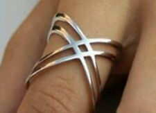 Charming Ring For Her Anniversary/Engagement Hand Made Sterling Silver
