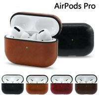 Protective PU Leather Apple Airpod Pro Case Cover Anti Lost Skin for Airpods Pro