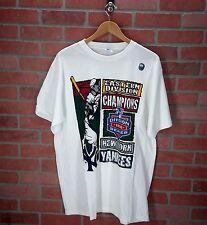 NWOT Starter New York Yankees L Large 1996 Division Champs Vintage T-Shirt Tee