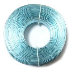 15 mètres Fil Aluminium déco bijoux Ø 1,5 mm BLEU CLAIR