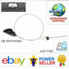 LCC 7103 VW T4 Front hand brake cable with roller and seal 701711476A