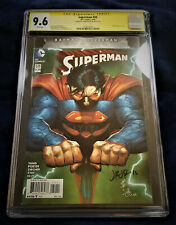 NEW 52 SUPERMAN #50 CGC 9.6 SIGNED JOHN ROMITA JR!!!