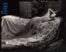 Myrna Loy sexy Asian by C.S. Bull Photo From Original Negative Mask of Fu Manchu
