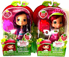 1 Strawberry Shortcake Doll & 1 Plum Pudding Scented & iconic Comb 12235