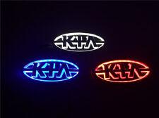 5D LED Car Real Logo Light Auto Badge Front Emblem Lamp For KIA Forte KIA CERATO