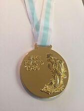 1980 USA LAKE PLACID MIRACLE ON ICE HOCKEY OLYMPICS SOUVENIR GOLD MEDAL XRARE!!!