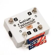CR® CUSTOM FOOTSWITCH FOR MESA BOOGIE ROCKET 4 40 TUBE AMPLIFIER HANDWIRED USA