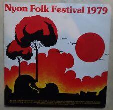 DOUBLE VINYLE 33 TOURS NYON FOLK FESTIVAL 1979 GAD 0791 FRANCE 2 LP