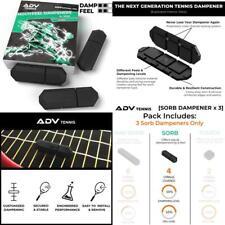 Adv Tennis Vibration Dampener - Set Of 3 - Ultimate Shock Absorbers For Racket A