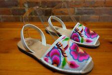 Embroidered PENELEOPE CHILVERS 'Menorquina' Sandals. rrp £169.00 NEW & UNWORN