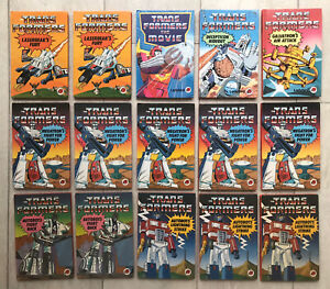 Lot Of 15 Vintage 1980s Ladybird Book Transformers 1st Edition Good Condition