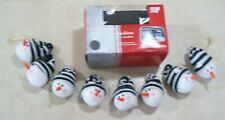 Christmas Holiday Automotive Car Snowmen String Window Decoration