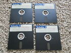 """PFS: First Choice & Dictionary Disk 5.25"""" Floppy disks untested not sure version"""