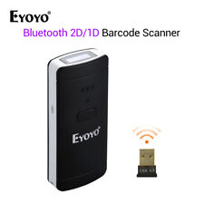 Eyoyo Bar Code Reader 2D/1D/QR Protable 120000 Barcode Record for Retail Store