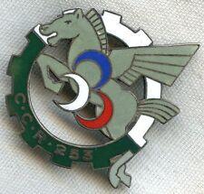 1950s 253e CCR Compagnie de Circulation Routiere Company of Road Traffic Badge
