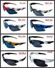Sport Oak Sunglasses Mens Womens Biker Fishing Golf black red blue yellow etc Au
