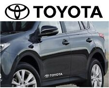TOYOTA car body tuning vinyl Sticker Decal Graphic 2 stickers avensis verso