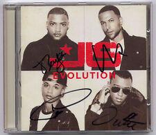 JLS Evolution 2012 UK Play.com exclusive SIGNED CD + CoA