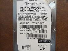 """Hitachi HTS548040M9AT00 PN:0A25839 MLC:DA1107 40gb IDE/ATA 2.5"""" Hard Drive"""
