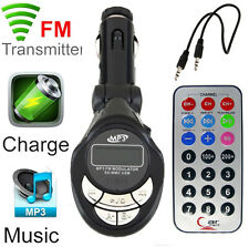 Wireless Car Kit MP3 Player FM Transmitter SD USB Charge Handsfree T-STORE