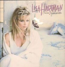 Lisa Hartman(Vinyl LP)Til My Heart Stops-Atlantic-81782-1-1987-VG-/NM