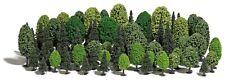 Busch 9764 HO (1/87e): Grote bomenset, 70 bomen