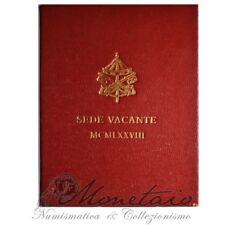 (Monetaio) Vaticano 500 Lire 1978 Sede Vacante FDC Argento Confezione Zecca