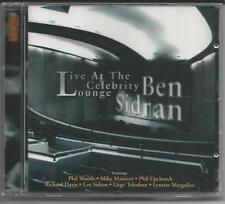 BEN SIDRAN - LIVE at the Celebrity Lounge - CD 1998 SONY - NEU & OVP/Sealed