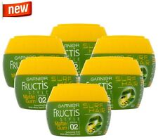 6x Garnier Fructis Style Surf Hair Texturising Matte Gum Strong Hold Pot 150ml