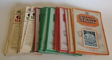 GIBBONS STAMP MONTHLY 39 issues from 1932 to 1936 - Stamp Collecting / REFERENCE