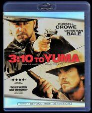 DVD BLU RAY 3:10 to Yuma, Russell Crowe, Christian Bale, 1080P Mangold 221893