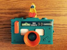 1978 Vintage Gabriel Big Birds 3 D Camera View Finder Toy Sesame Street