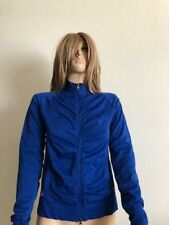 Junior's NWT Jessica Simpson Blue Ruched Track Jacket Size L